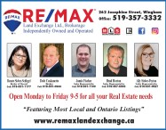 REMAX Land Exchange Ltd., Brokerage, Independently Owned and Operated