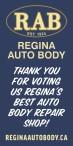 THANK YOU FOR VOTING Regina Auto Body REGINA'S BEST AUTO BODY REPAIR SHOP!