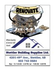 LET'S RENOVATE with Stettler Building Supplies