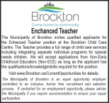 Enhanced Teacher Wanted
