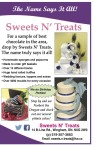 For a sample of best chocolate in the area, drop by Sweets N' Treats.