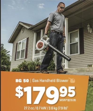 BG 50 | Gas Handheld Blower