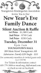 New Year's Eve Family Dance Silent Auction & Raffle