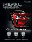 Lexus of London have been Leading London in Luxury Since 1991