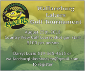 Wallaceburg Lakers Golf Tournament