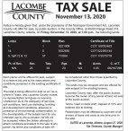LACOMBE COUNTY TAX SALE