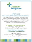 JOIN US FOR A LOOK AT THE FUTURE OF Listowel Wingham Hospitals