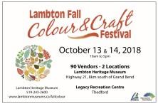 Lambton Fall Colour & Craft Festival