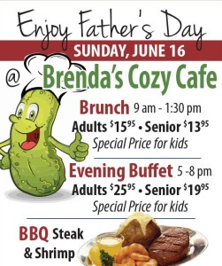 Father's Day At Brenda's Cozy Cafe