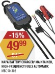 NAPA BATTERY CHARGER/ MAINTAINER