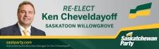 RE-ELECT Ken Cheveldayoff