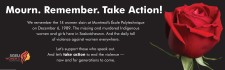 Mourn. Remember. Take Action!