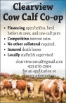 Clearview Cow Calf Co-op