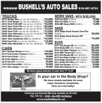 BUSHELL'S AUTO SALES in WINGHAM
