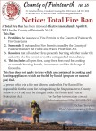 Notice: Total Fire Ban