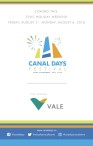 CANAL DAYS FESTIVAL COMING THIS CIVIC HOLIDAY WEEKEND