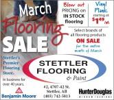 March Flooring Sale at Stettler Flooring