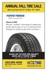 Ok Tire ANNUAL FALL TIRE SALE