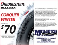 Conquer Winter with Meulensteen Tire