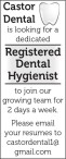 Castor Dental is looking for a dedicated Registered Dental Hygienist