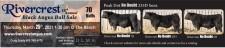 Rivercrest 18th Annual Black Angus Bull Sale