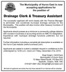 Drainage Clerk & Treasury Assistant wanted