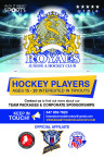 AGES 15 - 20 INTERESTED IN TRYOUTS with Brampton Royals
