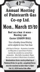 47th Annual Meeting of Paintearth Gas Co-op Ltd.