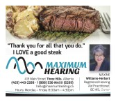 Thank You MAXIMUM HEARING