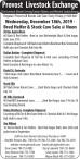Provost Livestock Exchange Calf Sale