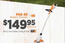 FSA 45 Battery Trimmer