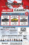 Bustard All out Clearout Sales Event