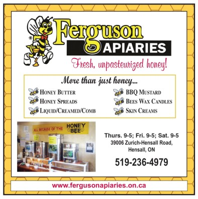Ferguson APIARIES Fresh, unpasteurized honey!