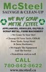 WE BUY SCRAP METAL /STEEL