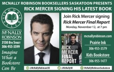 MCNALLY ROBINSON BOOKSELLERS PRESENTS RICK MERCER SIGNING HIS LATEST BOOK