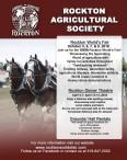 ROCKTON AGRICULTURAL SOCIETY ANNUAL EXHIBITION