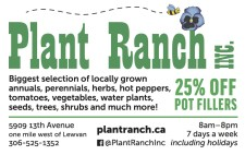Biggest selection of locally grown annuals and much more!