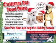 Christmas Pet Food Drive