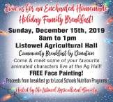 Join us for an enchanted homemade holiday family breakfast!