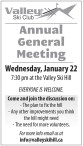 Valley Ski Club Annual General Meeting