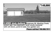 5 ACRES nicely sheltered home for sale.