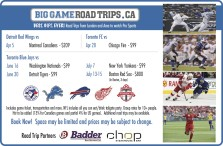 Game ticket, transportation and more