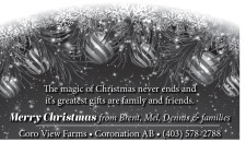 The magic of Christmas never ends and its greatest gifts are family and friends.