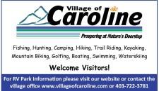 Village of Caroline Prospering at Nature's Doorstep