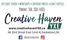 Creative Haven DIY CRAFT STUDIO, WORKSHOPS and more