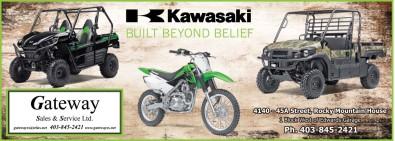 Kawasaki  BUILT BEYOND BELIEF