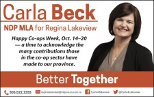 Carla Beck NDP MLA for Regina Lakeview