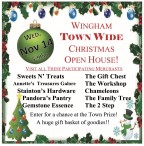 WINGHAM TOWN WIDE  CHRISTMAS OPEN HOUSE!