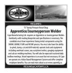 """U"" Stamp Pressure Vessel Shop Apprentice/Journeyperson Welder wanted"