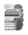 Specializing in Firestone FARM TIRES
